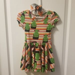 Dot Dot Smile halloween dress with shoes